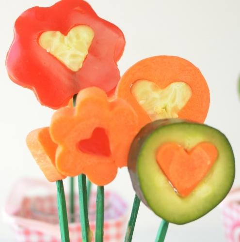 valentines veggies